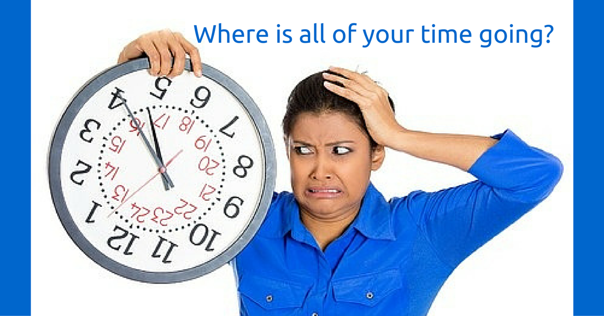 Where is all of your time going_
